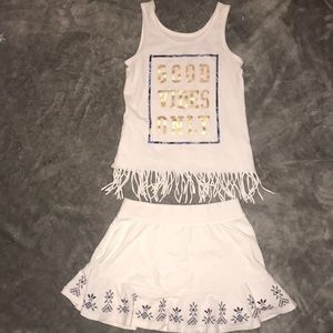 The Children's Place Matching Sets - 💞4/$15💞Children's Place Tank & skirt 6.